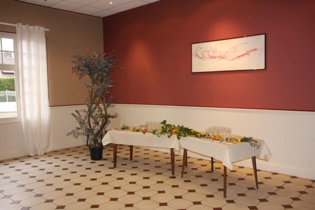 Aux Vendanges de Bourgogne Hotel Restaurant Paray le Monial Saone et Loire salle de réception (5)