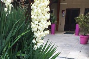 Entrée Hotel Aux vendanges de Bourgogne Paray le monial -1