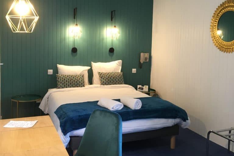 Aux vendanges de Bourgogne hotel restaurant Paray le Monial - chambre moderne1