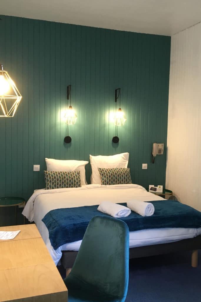 Aux vendanges de Bourgogne hotel restaurant Paray le Monial - chambre moderne2