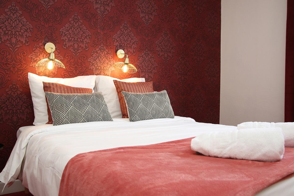Hotel Restaurant Aux Vendanges de Bourgogne Paray le Monial Saone et Loire Bourgogne - chambre -1