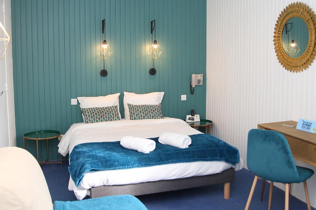 Hotel Restaurant Aux Vendanges de Bourgogne Paray le Monial Saone et Loire Bourgogne - chambre - 3