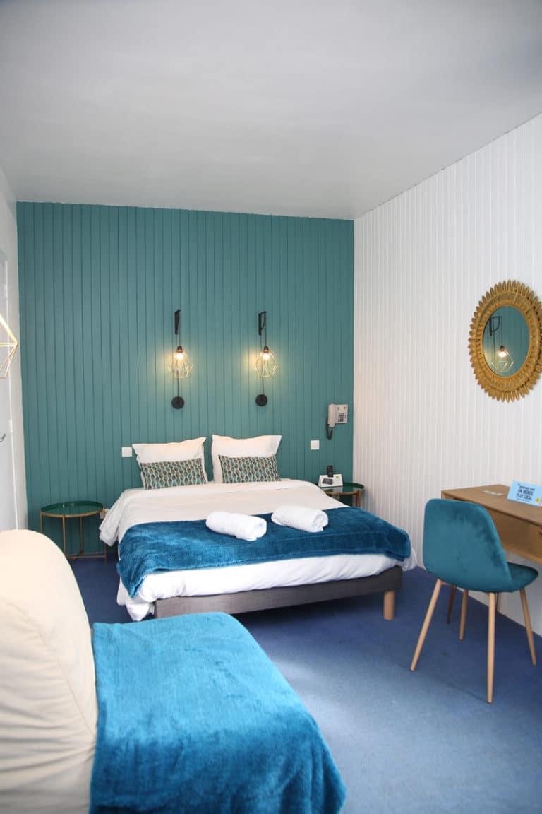 Hotel Restaurant Aux Vendanges de Bourgogne Paray le Monial Saone et Loire Bourgogne - chambre - 6