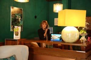 Hotel Restaurant Aux Vendanges de Bourgogne Paray le Monial Saone et Loire Bourgogne - reception -1