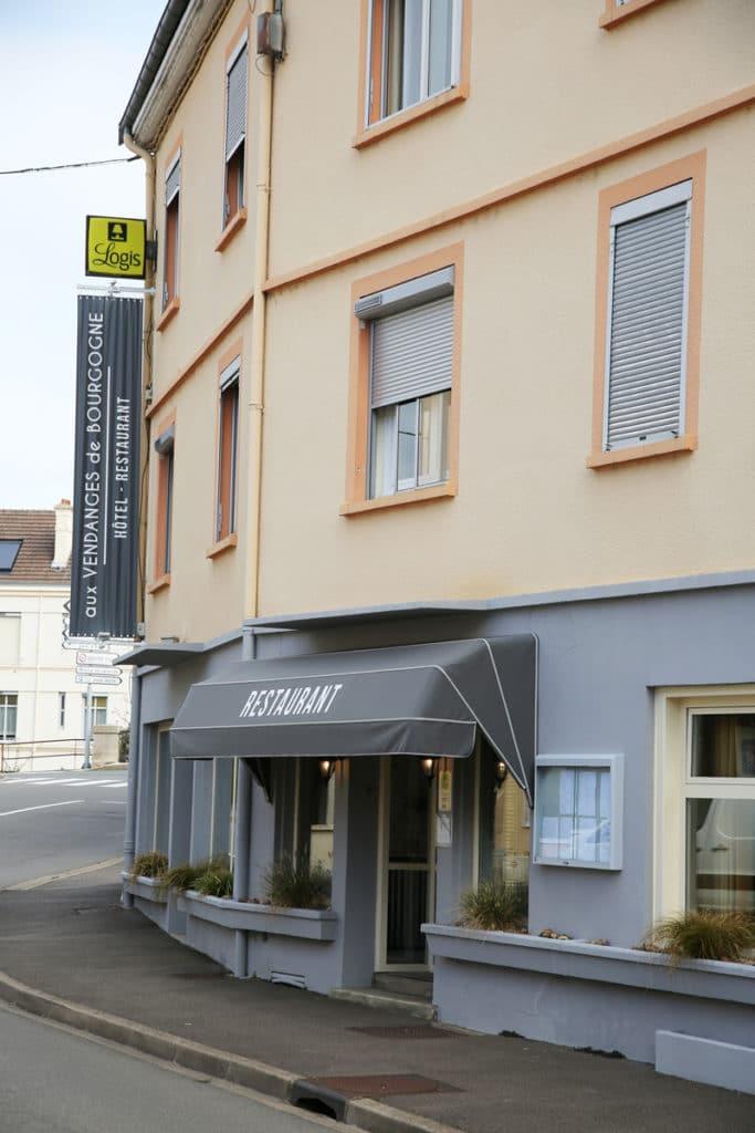 Hotel Restaurant Aux Vendanges de Bourgogne Paray le Monial Saone et Loire Bourgogne - restaurant -6