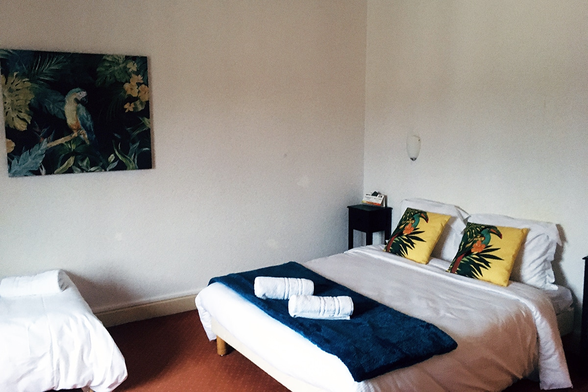 Hotel Restaurant Aux Vendanges de Bourgogne Paray le Monial Saone et Loire Bourgogne – chambre familiale - 4