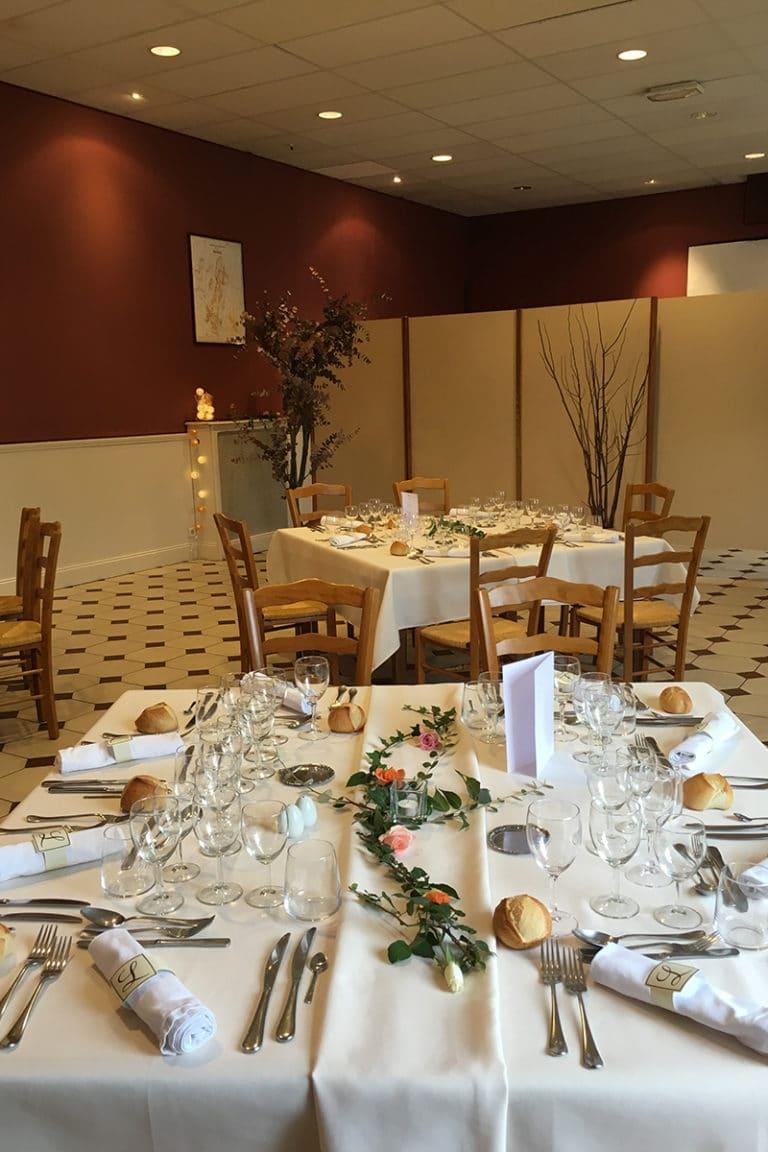 Salle de reception Hotel Restaurant Aux Vendanges de Bourgogne Paray le Monial Saone et Loire Bourgogne – 21