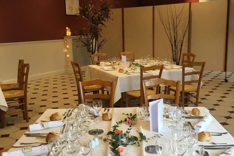 Salle de reception Hotel Restaurant Aux Vendanges de Bourgogne Paray le Monial Saone et Loire Bourgogne – 211-1
