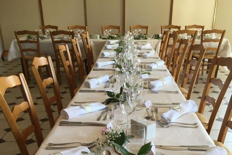 Salle de reception Hotel Restaurant Aux Vendanges de Bourgogne Paray le Monial Saone et Loire Bourgogne – 2112